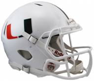 Miami Hurricanes Riddell Speed Collectible Football Helmet