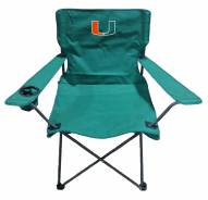Miami Hurricanes Rivalry Folding Chair