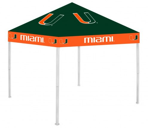 Miami Hurricanes 9' x 9' Tailgating Canopy