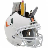 Miami Hurricanes Schutt Football Helmet Desk Caddy