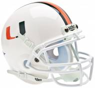 Miami Hurricanes Schutt Mini Football Helmet