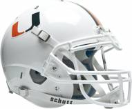 Miami Hurricanes Schutt XP Authentic Full Size Football Helmet