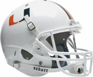 Miami Hurricanes Schutt XP Collectible Full Size Football Helmet