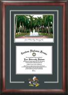 Miami Hurricanes Spirit Diploma Frame with Campus Image