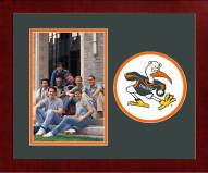 Miami Hurricanes Spirit Horizontal Photo Frame
