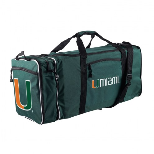 Miami Hurricanes Steal Duffel Bag
