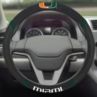Miami Hurricanes Steering Wheel Cover