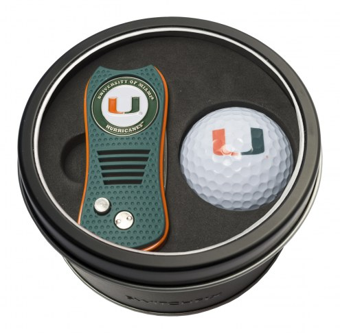 Miami Hurricanes Switchfix Golf Divot Tool & Ball