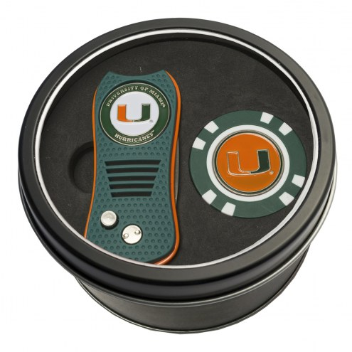 Miami Hurricanes Switchfix Golf Divot Tool & Chip