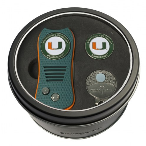 Miami Hurricanes Switchfix Golf Divot Tool, Hat Clip, & Ball Marker