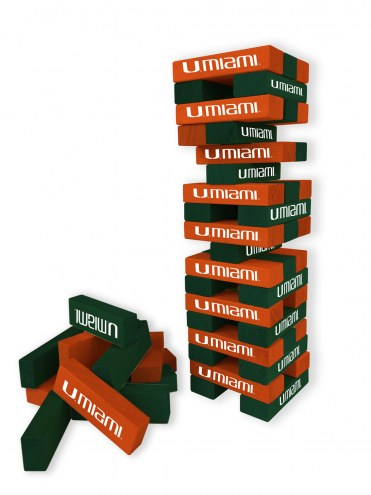 Miami Hurricanes Table Top Stackers