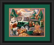 Miami Hurricanes Tailgate Framed Print