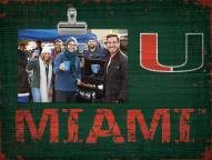 Miami Hurricanes Team Name Clip Frame