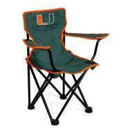 Miami Hurricanes Toddler Folding Chair