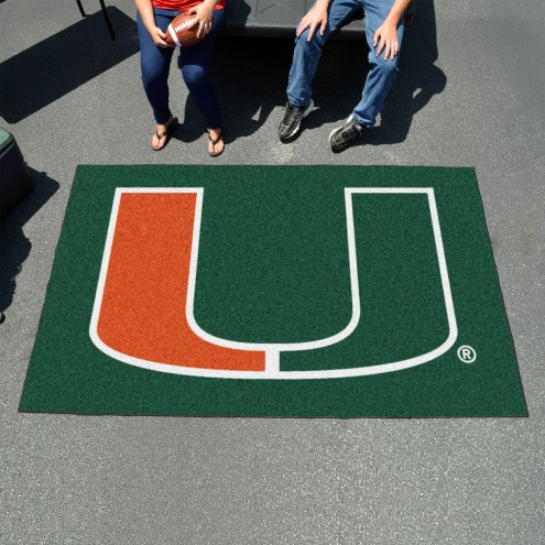 Miami Hurricanes Ulti-Mat Area Rug