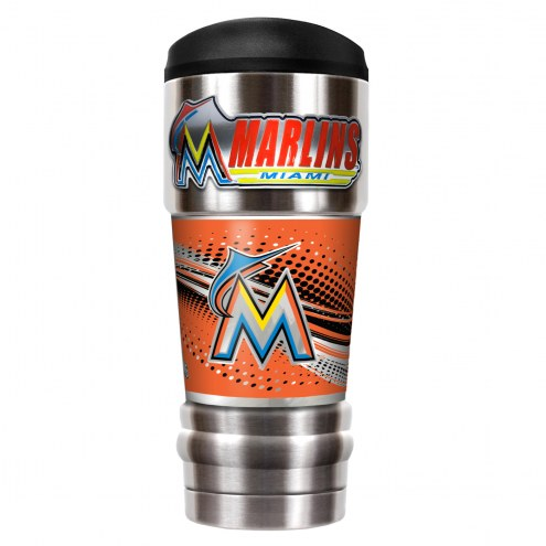 Miami Marlins 18 oz. MVP Tumbler