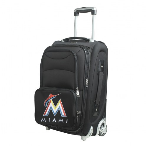 """Miami Marlins 21"""" Carry-On Luggage"""
