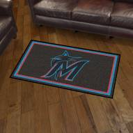 Miami Marlins 3' x 5' Area Rug