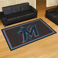 Miami Marlins 5' x 8' Area Rug