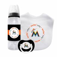 Miami Marlins Baby Gift Set