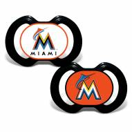 Miami Marlins Baby Pacifier 2-Pack