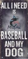 Miami Marlins Baseball & My Dog Sign