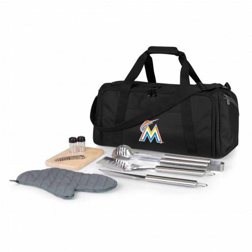 Miami Marlins BBQ Kit Cooler
