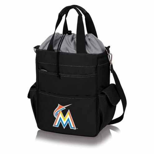 Miami Marlins Black Activo Cooler Tote