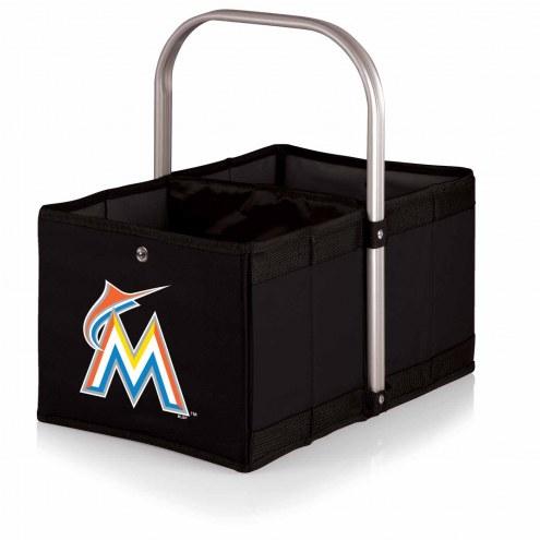 Miami Marlins Black Urban Picnic Basket