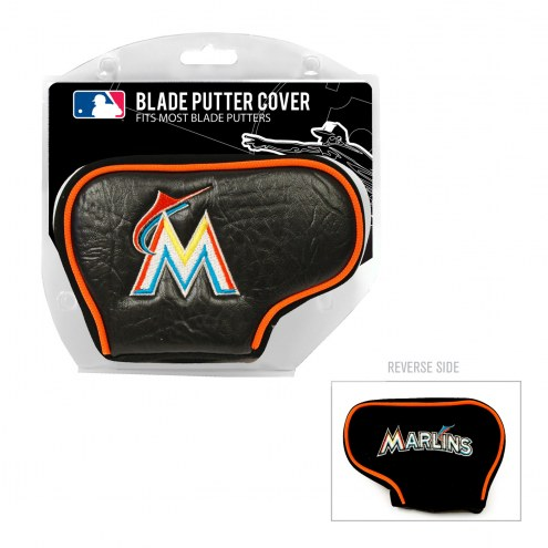 Miami Marlins Blade Putter Headcover