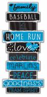 Miami Marlins Celebrations Stack Sign