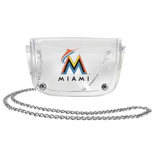 Miami Marlins Clear Waistpack