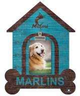 Miami Marlins Dog Bone House Clip Frame