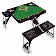 Miami Marlins Folding Picnic Table