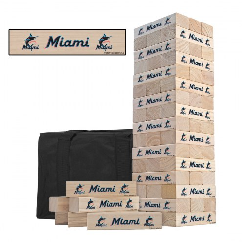 Miami Marlins Gameday Tumble Tower
