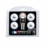 Miami Marlins Golf Ball Gift Set