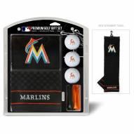 Miami Marlins Golf Gift Set