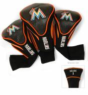 Miami Marlins Golf Headcovers - 3 Pack
