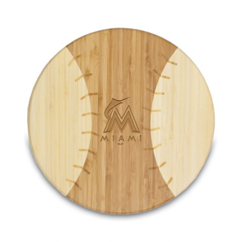 Miami Marlins Homerun Cutting Board