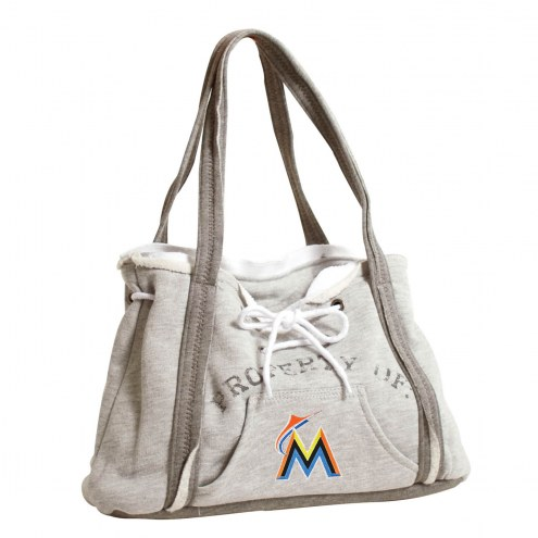 finest selection acd57 b486d Miami Marlins Hoodie Purse