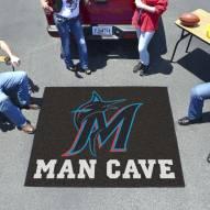 Miami Marlins Man Cave Tailgate Mat