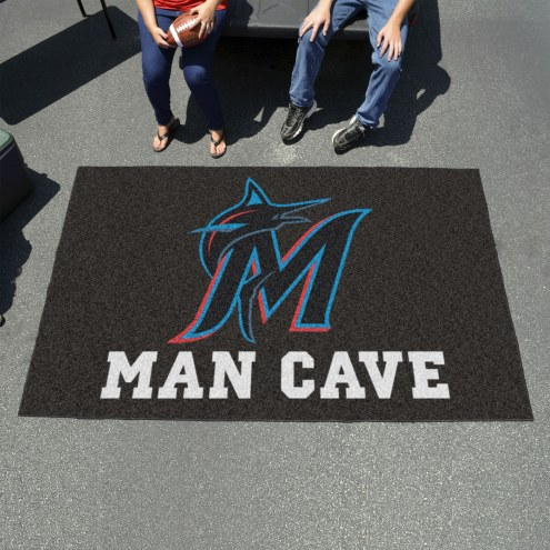 Miami Marlins Man Cave Ulti-Mat Rug