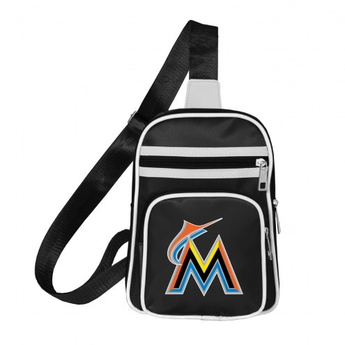 Miami Marlins Mini Cross Sling Bag