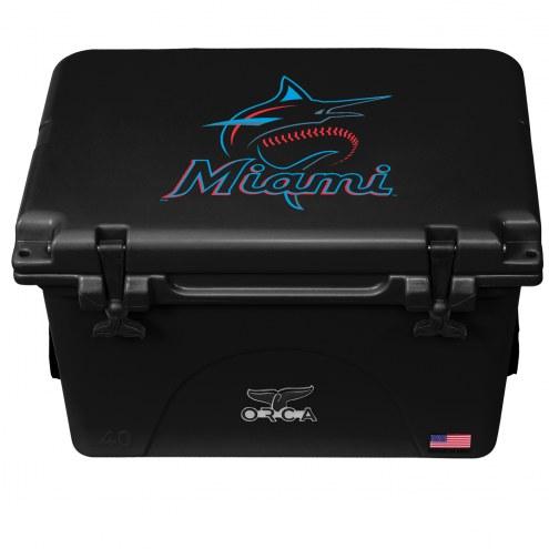 Miami Marlins ORCA 40 Quart Cooler