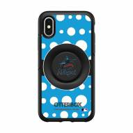 Miami Marlins OtterBox Symmetry Polka Dot PopSocket iPhone Case