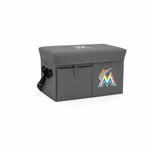 Miami Marlins Ottoman Cooler & Seat