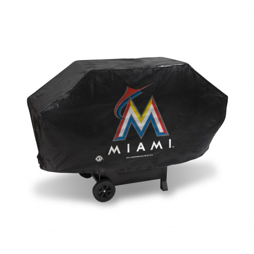 Miami Marlins Padded Grill Cover