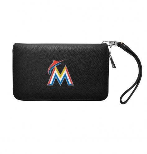 Miami Marlins Pebble Organizer Wallet