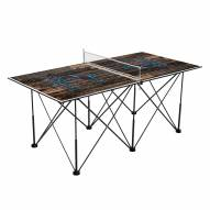 Miami Marlins Pop Up 6' Ping Pong Table