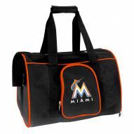 Miami Marlins Premium Pet Carrier Bag